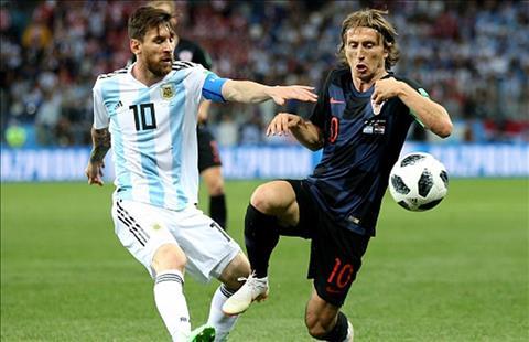 Messi va Modric