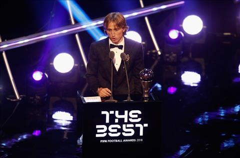 Modric giành giải The Best Khi FIFA thay Messi xin lỗi thế giới hình ảnh