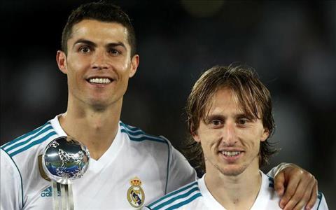 Modric là cầu thủ xuất sắc nhất thế giới hình ảnh
