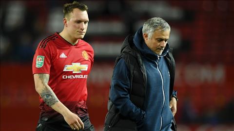 HLV Jose Mourinho phát biểu về Phil Jones và Eric Bailly hình ảnh