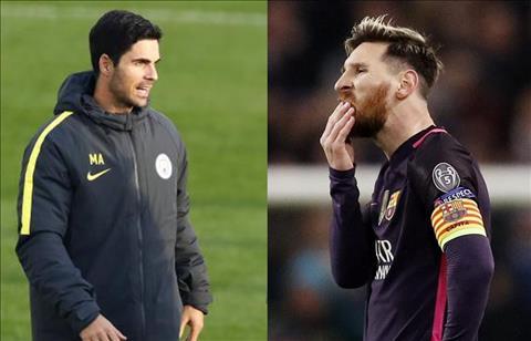 Messi chui Arteta