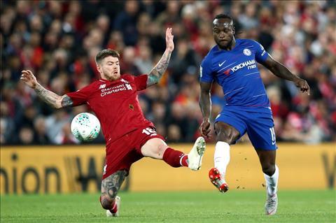Liverpool v Chelsea Moreno va Moses