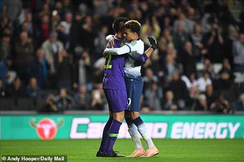 Clip bàn thắng Tottenham vs Watford 2-2 pen 4-2 Cúp Liên đoàn Anh hình ảnh