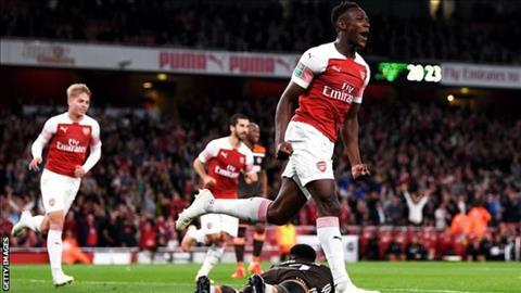 Thống kê Arsenal vs Brentford - Vòng 3 cúp Liên đoàn Anh 201819 hình ảnh
