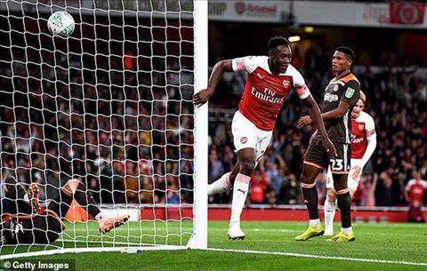 Kết quả trận đấu Arsenal vs Brentford 3-1 cúp liên đoàn anh 2018 hình ảnh