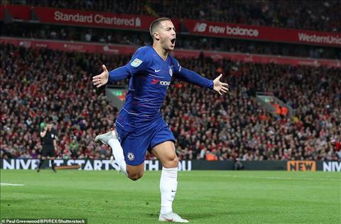 Hazard trận Liverpool vs Chelsea phát biểu về Kante hình ảnh