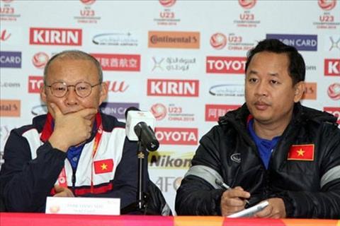 Thầy Park mất trợ lý Lê Huy Khoa tại VCK U23 châu Á 2020 hình ảnh