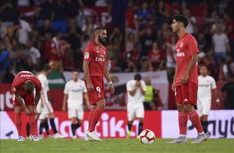 Real thua Sevilla 0-3