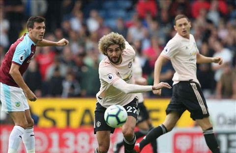 Fellaini M.U vs Burnley