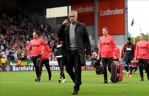 HLV Mourinho phát biểu trận Burnley vs MU chiến thắng giải tỏa hình ảnh