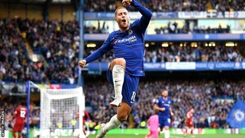 Thống kê cho thấy Eden Hazard tỏa sáng rực rỡ hình ảnh