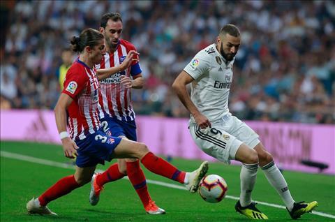 Real vs Atletico Benzema
