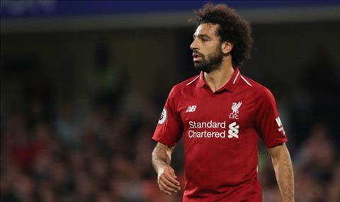 Salah tran Chelsea vs Liverpool