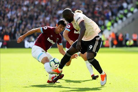 West Ham vs MU Lukaku