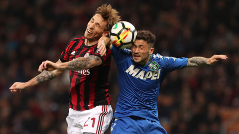 Nhận định Sassuolo vs AC Milan 01h30 ngày 110 Serie A 201819 hình ảnh