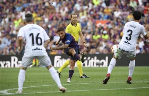 Coutinho Barca dut diem tran voi Huesca
