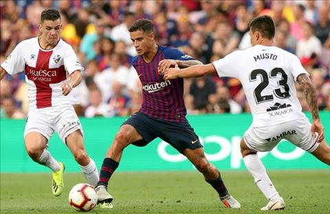 Coutinho Barca vs Huesca