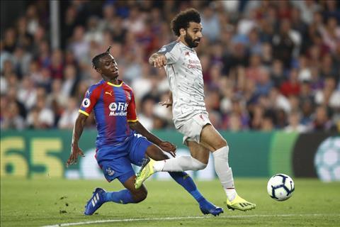 Liverpool vs Palace Salah