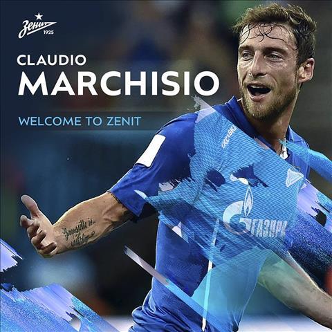Tiền vệ Claudio Marchisio gia nhập Zenit St Petersburg hình ảnh