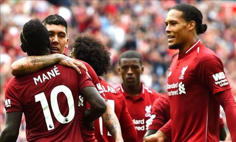 Tam tấu Liverpool Salah và Mane mang ơn Firmino hình ảnh