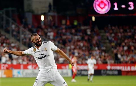Karim Benzema ghi bàn liên tục Tỏa sáng nhờ sự ra đi của Ronaldo hình ảnh