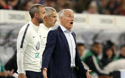 Deschamps phát biểu sau trận Đức 0-0 Pháp hình ảnh