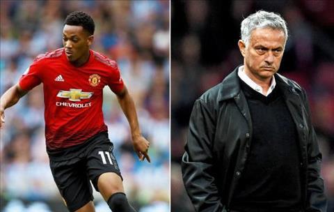 Martial va Mourinho