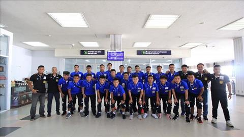 DT Lao sang Tay Ban Nha ren quan chuan bi cho AFF Cup 2018.