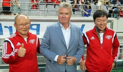 HLV Park Hang Seo có thể gặp Guus Hiddink tại VCK U23 châu Á 2020 hình ảnh