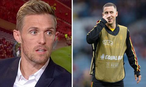 Darren Fletcher tiet lo cach ngan chan Eden Hazard