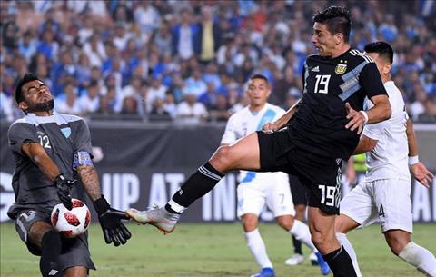 Giovanni Simeone phát biểu sau trận Argentina 3-0 Guatemala hình ảnh