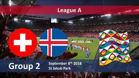 Nhận định Thụy Sỹ vs Iceland 23h00 ngày 89 UEFA Nations League hình ảnh