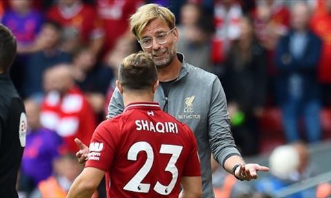 Carragher đưa ra lời khuyên cho Klopp về tiền vệ Shaqiri hình ảnh