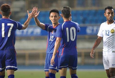 Dai Loan bat ngo co chien thang thuyet phuc 0-2 truoc Malaysia