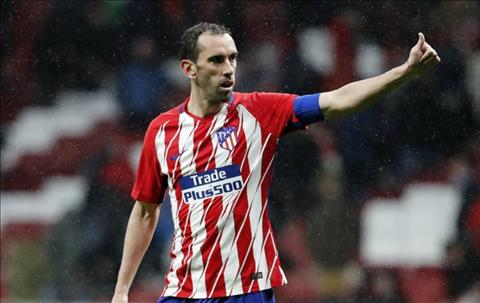 Jose Gimenez hy vọng Diego Godin ở lại Atletico Madrid hình ảnh