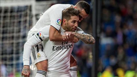 Real Madrid 3-0 Leganes Sergio Ramos ghi 100 bàn thắng sự nghiệp hình ảnh
