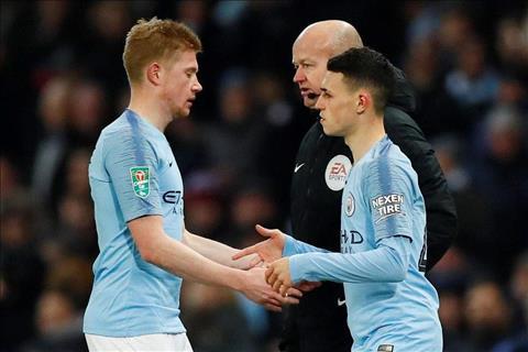 Guardiola cảnh cáo thái độ của De Bruyne trận Man City vs Burton hình ảnh