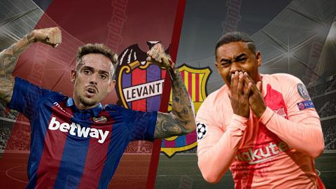 Levante vs Barca 03h30 ngày 111 (Cúp Nhà vua TBN 201819) hình ảnh