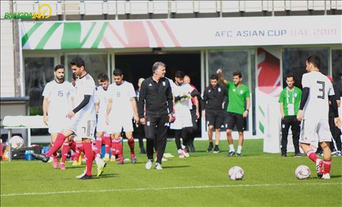 Chùm ảnh ĐT Iran tập luyện buổi cuối trước trận gặp Việt Nam hình ảnh