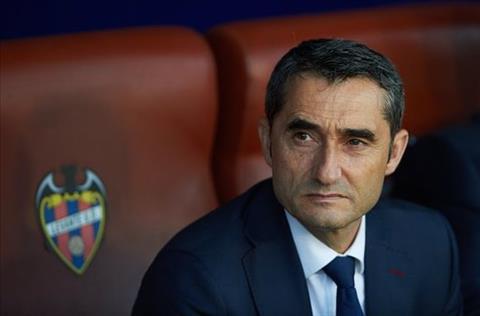 Ernesto Valverde phát biểu sau trận Levante 2-1 Barca hình ảnh