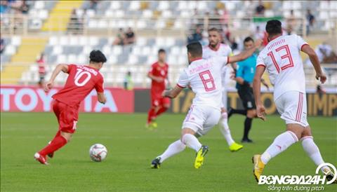 Cong Phuong chia se sau tran sau tran Viet Nam 0-2 Iran
