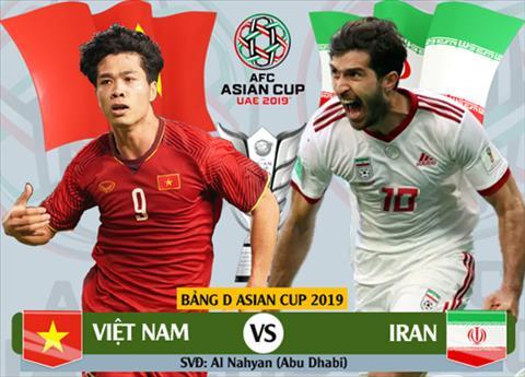 Trực tiếp Việt Nam vs Iran tường thuật bóng đá AFC Asian Cup 2019 hình ảnh