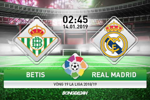 Preview Betis vs Real madrid