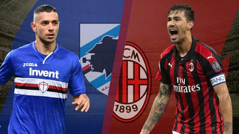 Sampdoria vs Milan 0h00 ngày 131 (Coppa Italia 201819) hình ảnh