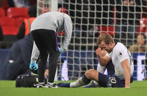 Harry Kane dinh chan thuong