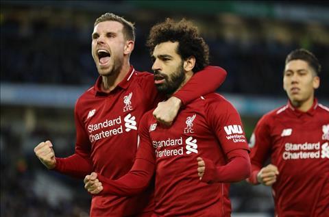 Henderson va Salah cua Liverpool
