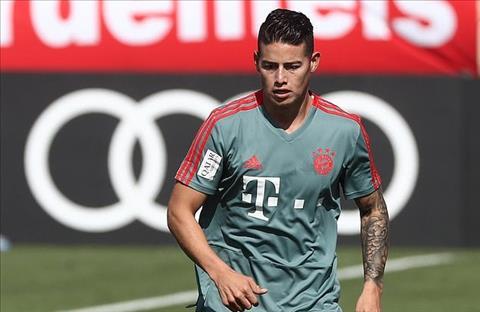 James Rodriguez sẵn sàng trở lại Real Madrid hình ảnh