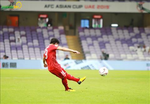 Quang Hải được ví như Lionel Messi sau siêu phẩm sút phạt hình ảnh