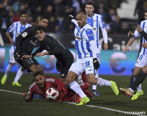 Video tong hop: Leganes 1-0 Real Madrid (Cup nha vua TBN 2018/19)