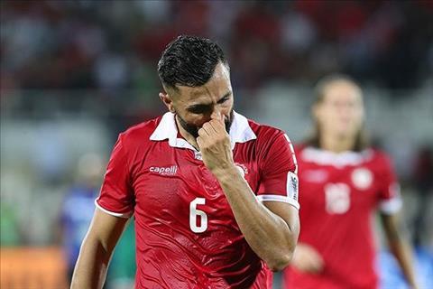 Joan Oumari tiec nuoi khi Lebanon bi loai ngay tu vong bang